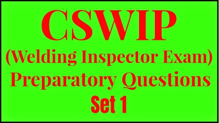 Preparatory Questions (Set - 1)