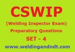 Preparatory Questions (Set – 4)