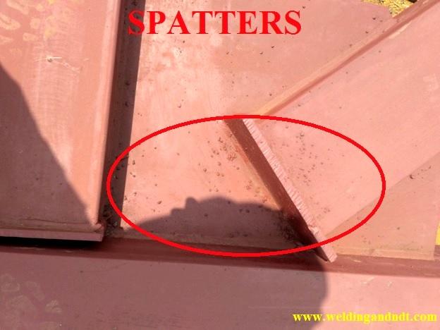 Spatters - Welding Defect