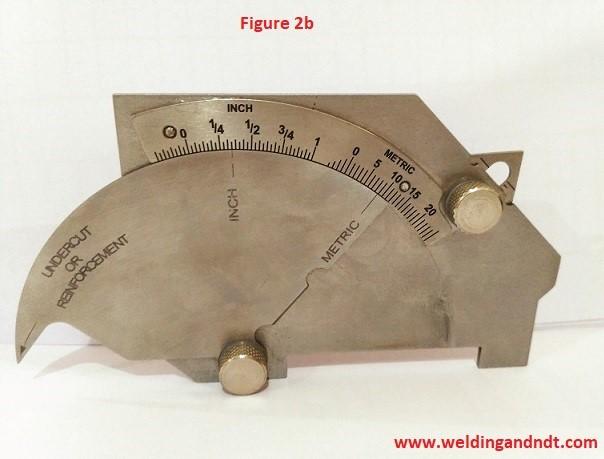 Bridge cam welding gauge