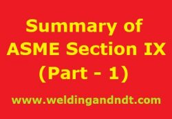 P Number F Number And A Number In Welding Asme Section